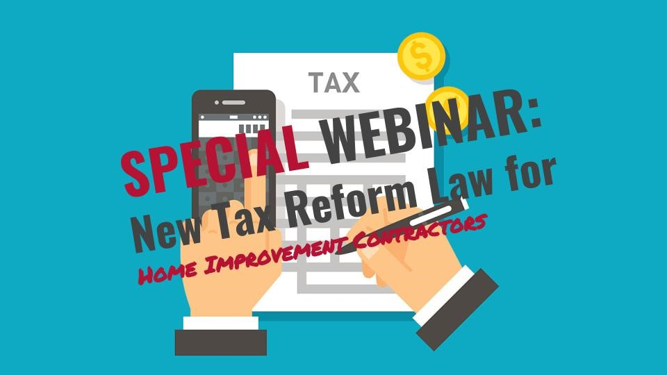 CCN 2018 Webinar on Tax Reform Law Image